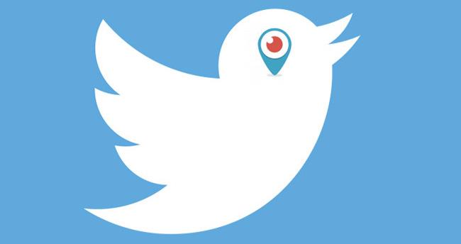 Twitter'a Periscope Canlı Yayın Düğmesi Geldi