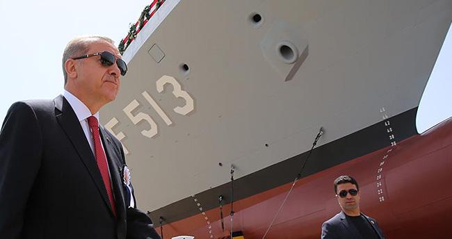 Cumhurbaşkanı Erdoğan: Uçak gemimizi inşallah yapacağız
