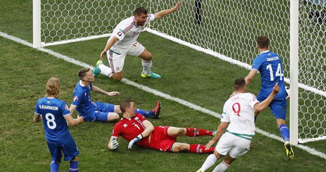 İzlanda 1-1 Macaristan