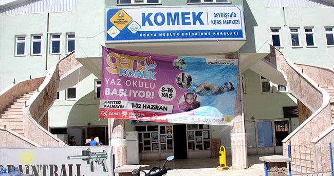 Seydişehir KOMEK'e 500 öğrenci kayıt oldu