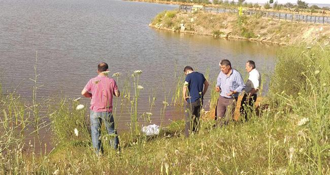 Konya'da gölette erkek cesedi bulundu