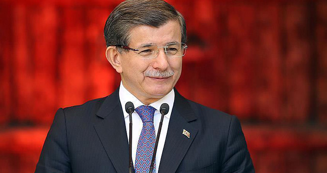 Eski Başbakan Davutoğlu'nun makam odası belli oldu