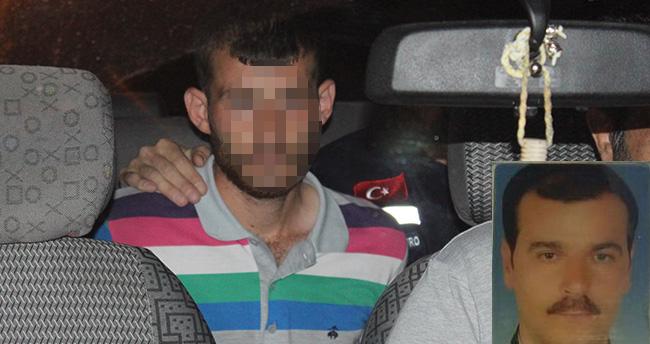 Konya'da babasını öldüren zanlı tutuklandı