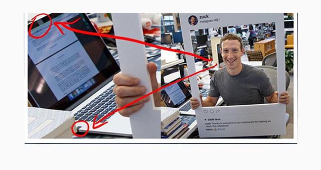 Zuckerberg laptopun kamerasını bantladı!