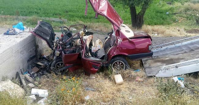 Feci kaza: 4 ölü, 1 yaralı