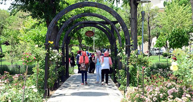 Konya'da Gülbahçe'ye yoğun ilgi