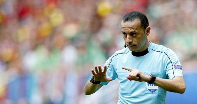 EURO 2016'da dev maç Cüneyt Çakır'ın!