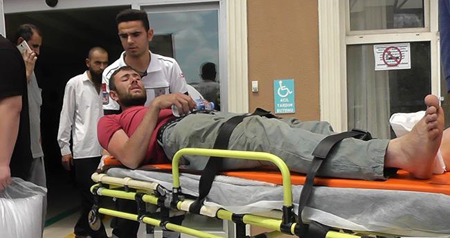 Konya'da bir işçi inşaattan düştü