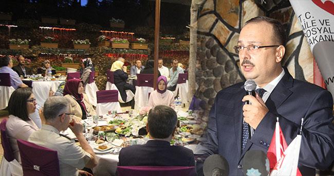 Konya'da şehit ve gazi ailelerine iftar