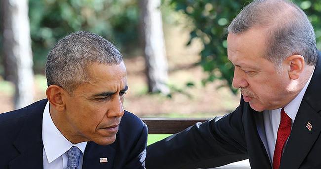 Obama'dan Cumhurbaşkanı Erdoğan'a taziye telefonu