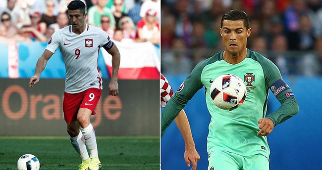 Polonya ve Portekiz çeyrek finalde karşılaşacak