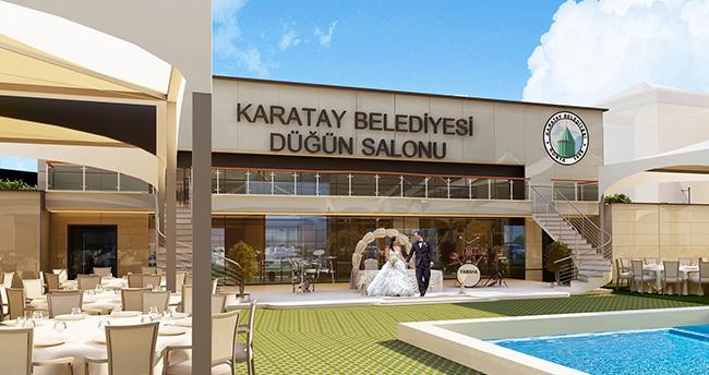 Konya'nın en büyük kır düğün salonunun yapımına başlandı