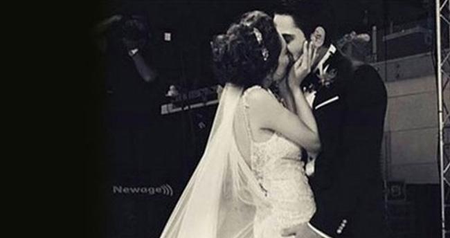 Kadir Doğulu ve Neslihan Atagül evlendi-İşte düğünden fotoğraflar