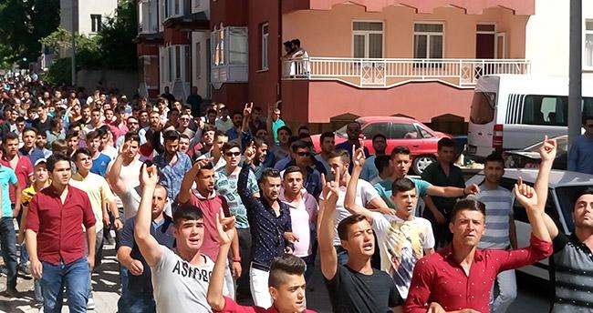 Konya'da protesto yürüyüşü