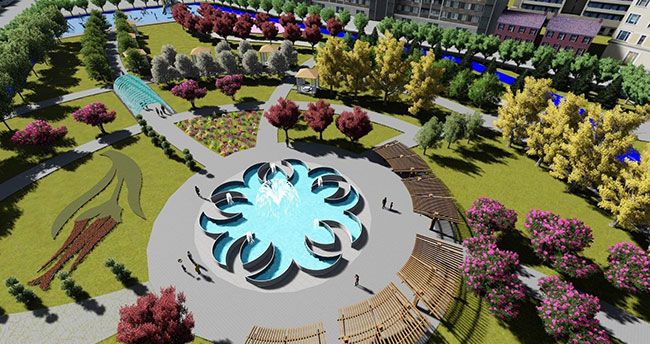 Meram'a farklı konseptte park!