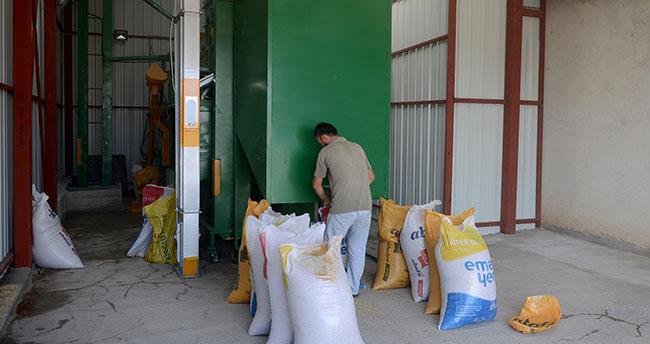 Konya Büyükşehir'den 30 tohum eleme tesisi
