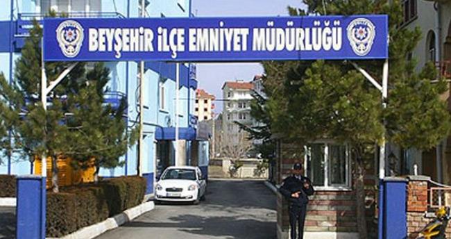 Beyşehir İlçe Emniyet Müdürü ile 2 rütbeli polis tutuklandı