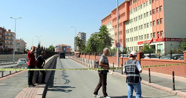 Konya'da tapu ve kadastro binasında bomba alarmı