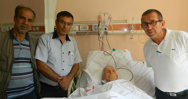 Konyalı sanatçı Ahmet Özdemir (Kör Ahmet) komadan çıktı