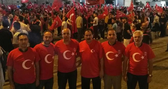 TSYD Konya Şubesi, Demokrasi Nöbetinde