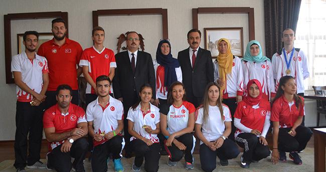 Konya'yı olimpiyatlarda beş sporcu temsil edecek