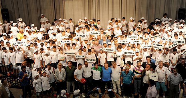 Türkiye'nin yıldızları futbol şöleni Konya'da