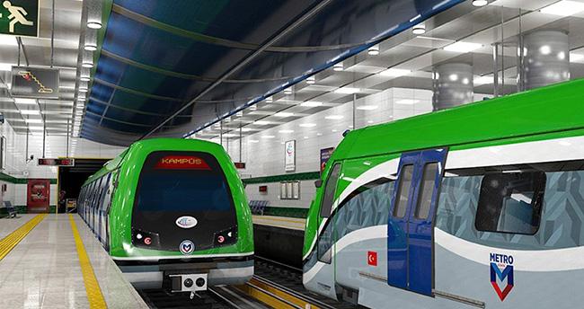 Konya metrosunda önemli bir adım daha atıldı