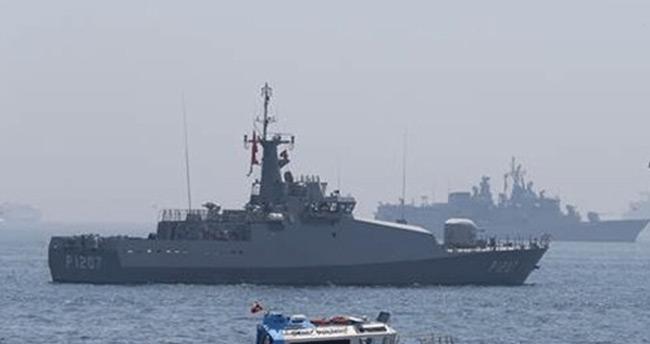 Yenikapı'daki tarihi miting 4 savaş gemisi ile korunuyor!