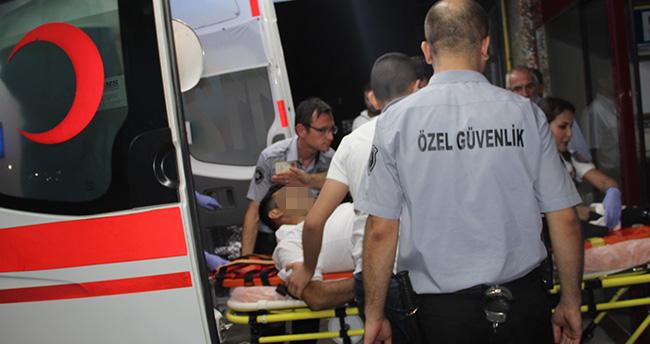 Konya'da silahla yaralama