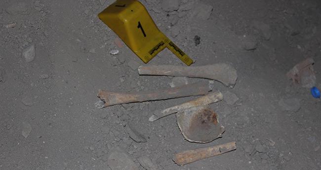Konya'da bir apartmanın bodrumundan kemik parçaları çıktı