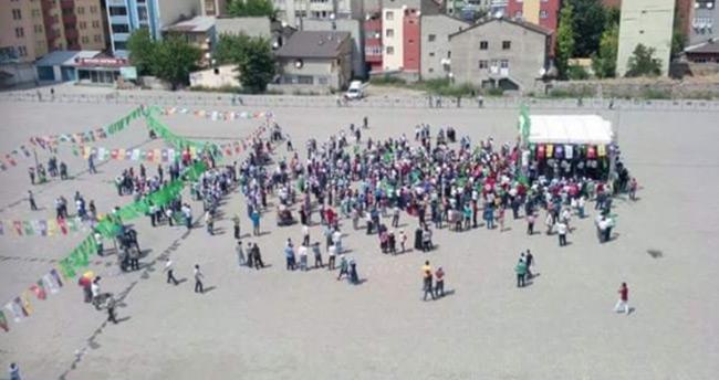 HDP'nin Ağrı mitingine 120 kişi katıldı