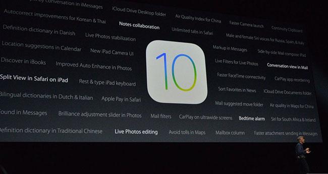 Apple, iOS 10 Beta 6 güncellemesini yayınlandı