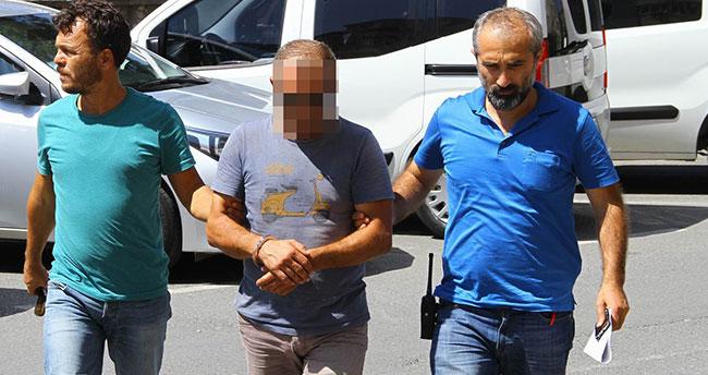 Samsun'da 13 yaşındaki üvey kızına taciz iddiasına gözaltı