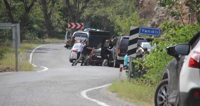 Kılıçdaroğlu'nun konvoyunda çatışma : 1 polis yaralandı