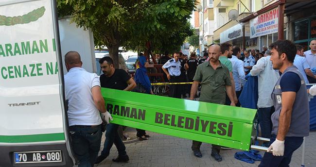 Karaman'da bir kişi eski eşini öldürüp intihar etti