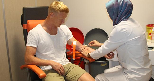 Atiker Konyaspor'da yeni transfer Jens Jonsson, sağlık kontrolünden geçti