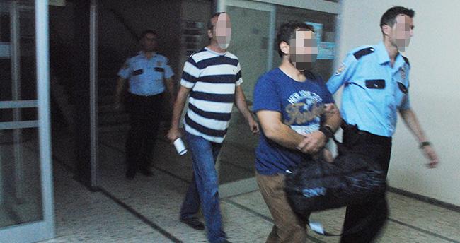 Sarayönü'nde 4 kişi tutuklandı