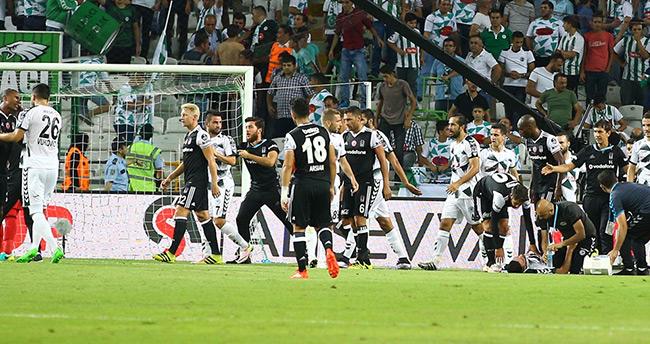 Beşiktaş'ın Konya'da yüzü gülmüyor