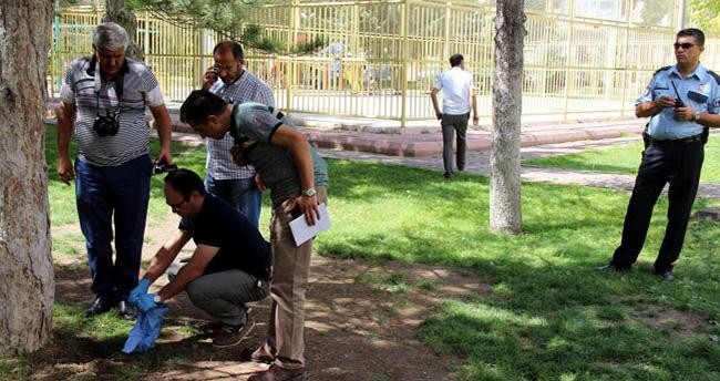 Kayseri'de 4 aylık cenini parka gömdüler