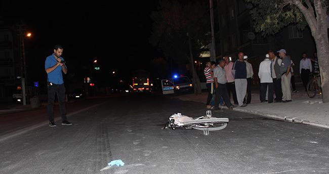 Konya'da tır bisiklete çarptı: 1 ölü