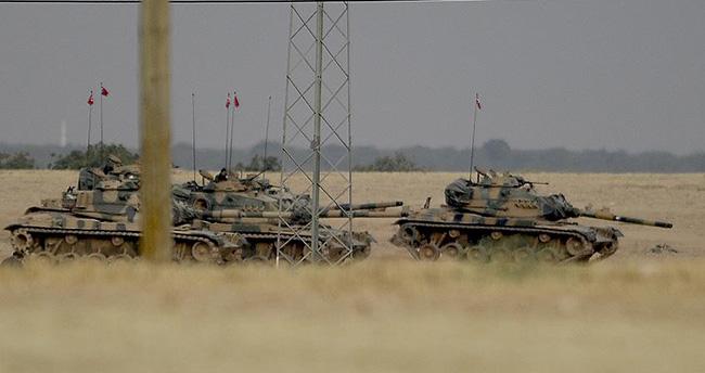 TSK zırhlıları Çobanbey'e girdi