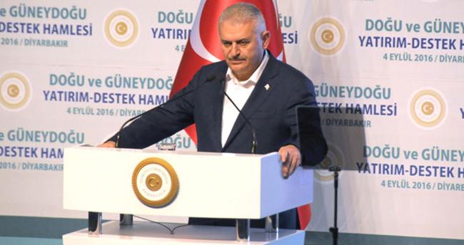 Yıldırım: 'HDP Başkanı, katlettikleri 16 köylünün yakınlarının yanında konuşsun'