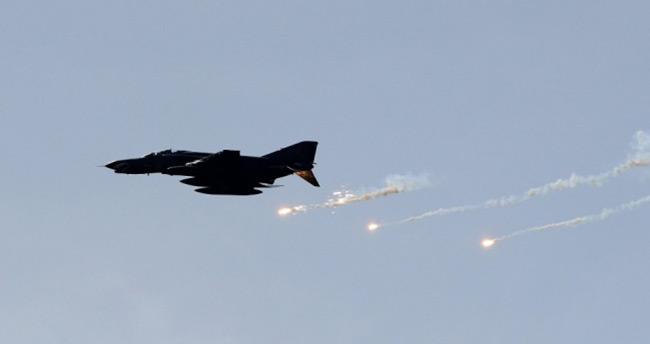Terör örgütü PKK'ya hava harekatı