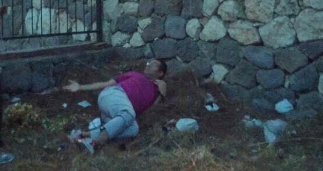 Eski savcı polisten kaçarken ayağını kırdı