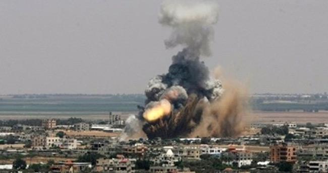 İsrail Gazze'yi top atışıyla vurdu