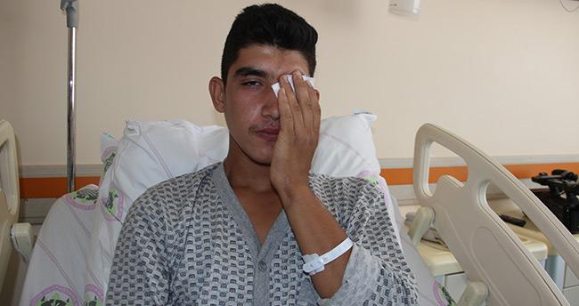 Bayram'da torpil faciası : Torpil birinin gözünü, diğerinin parmaklarını vurdu