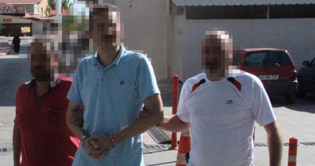 Firari emniyet müdürü Konya'da yakalandı