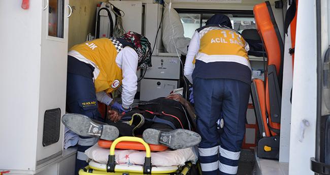 Konya'da Motosiklet ticari araca çarptı: 2 yaralı