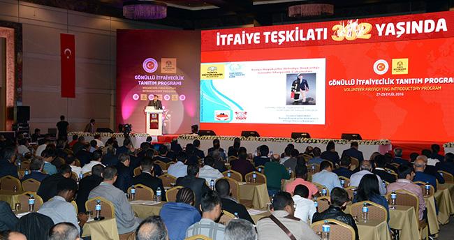 Konya'da Gönüllü İtfaiyecilik tanıtıldı