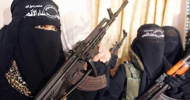 DAEŞ'in 10 kişilik kadın hücresi çökertildi